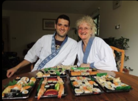 """I've wanted to learn about sushi for a while now and have been looking  at different courses. I knew as soon as I saw yours that it was the one I  wanted to do. It all looked much more personal than the other courses  available and that's exactly what it was like. We learnt loads and can't  wait to make more sushi!""  ""Thank you for a wonderful afternoon.  You made us feel welcome from the start and the course flowed smoothly from one style to another.  We have come away with a wealth of knowledge and a real passion to start making Sushi regularly.  I have already been out to the shops!  Thank you so much…. you exceeded our expectations."""