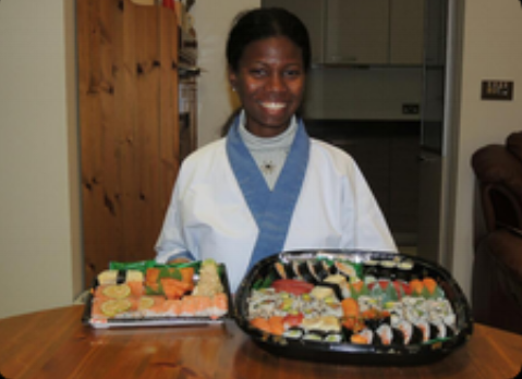 """Today was an amazing day. I have always wanted to learn how to properly  make and understand the culture behind Sushi and today I did. I had two  amazing, fun teachers Narihito & Yoshie Matsunaga. I felt welcomed  and comfortable in their home from beginning to end. The private session  was well paced and flowed easily as they took their time to explain  everything.I feel very ready to tackle more sushi making in my own  kitchen! Thank you much love fromTrinidad & Tobago"""