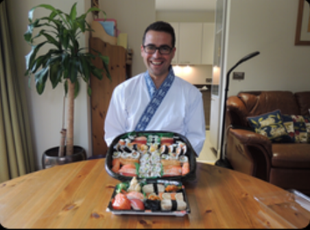 """Nari and Yoshie are incredible experienced sushi makers but most  importantly they also are a very nice couple. I learnt all the basics to  make great sushi during my course and truly enjoyed the time they  shared with me"""