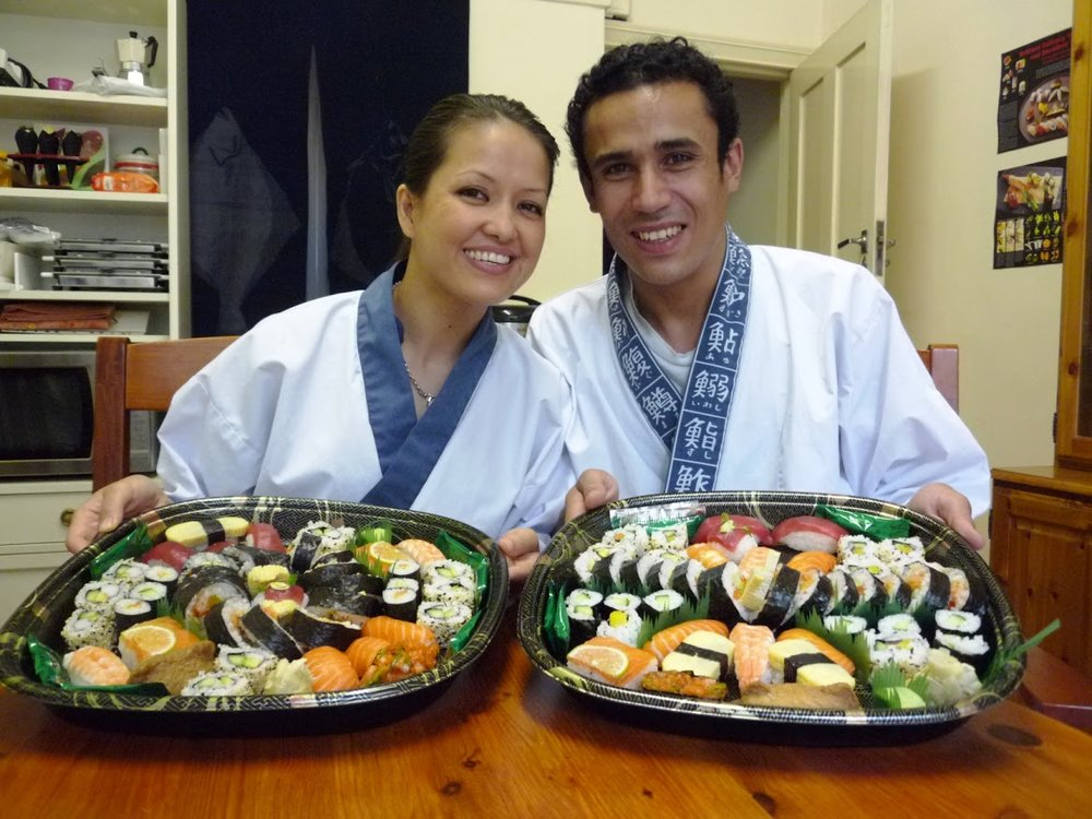 """The atmosphere was very friendly and authentic, it was a real Japanese  experience.Narihito and Yoshie were very nice, and made us feel  comfortable while the course was professionally managed.It was indeed  very well structured, well balanced between theory and practice, and  designed in a way that you would learn smoothly and naturally how to  make sushis. Everything was well explained, well shown, and you get  plenty of tricks. We definitely enjoyed it, it was fun and we get what  we came for, we highly recommend it."""