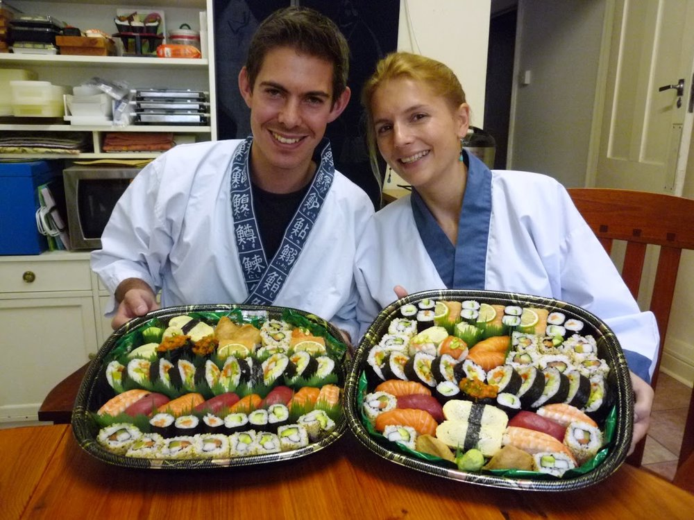 """Thank you for such a wonderful course!  As well as practicing how to make  sushi, we also learnt a huge amount about the ingredients and culture. Lots of fun (and lots of sushi!) - highly recomended."""
