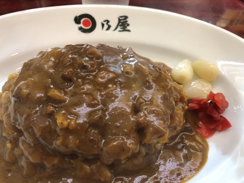 """The most popular dish here is the Mince-katsu curry"""