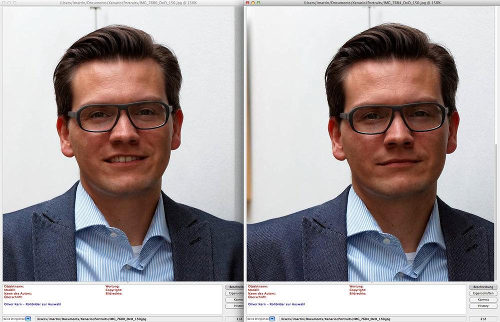 Mit gehaltener cmd- bzw. Strg-Taste können Sie alle Bilder simultan bedienen.