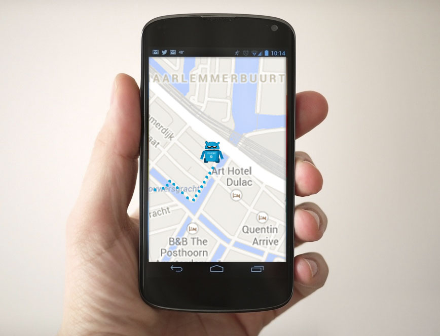 Locater app - An app helps locate your nearest recycle station. The app offers tips on recycling and advice on what to do when your nearest station is full.