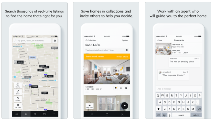 Compass Real Estate App (iTunes App Store) — We're developing this tech for everyone else — with YOUR brand