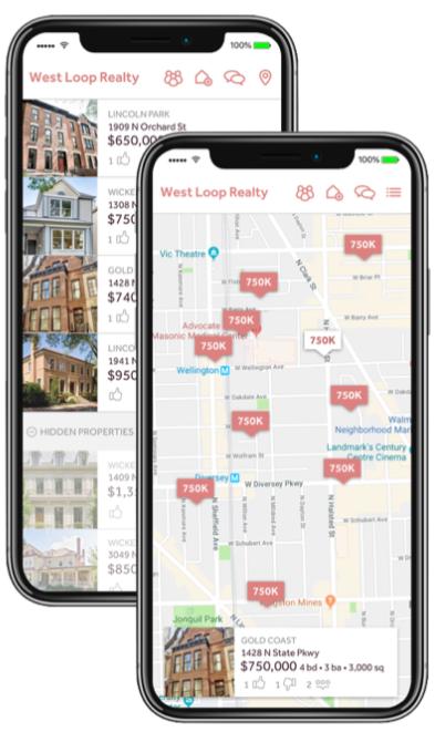 Homebloq's Custom Branded Mobile Apps
