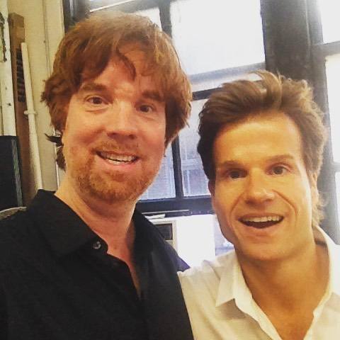 #PeterJones with #dwts #LouisvanAmstel