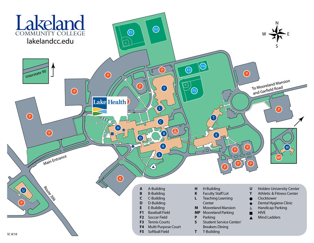 Lakeland Community College Campus Map.About Clinical Education Central