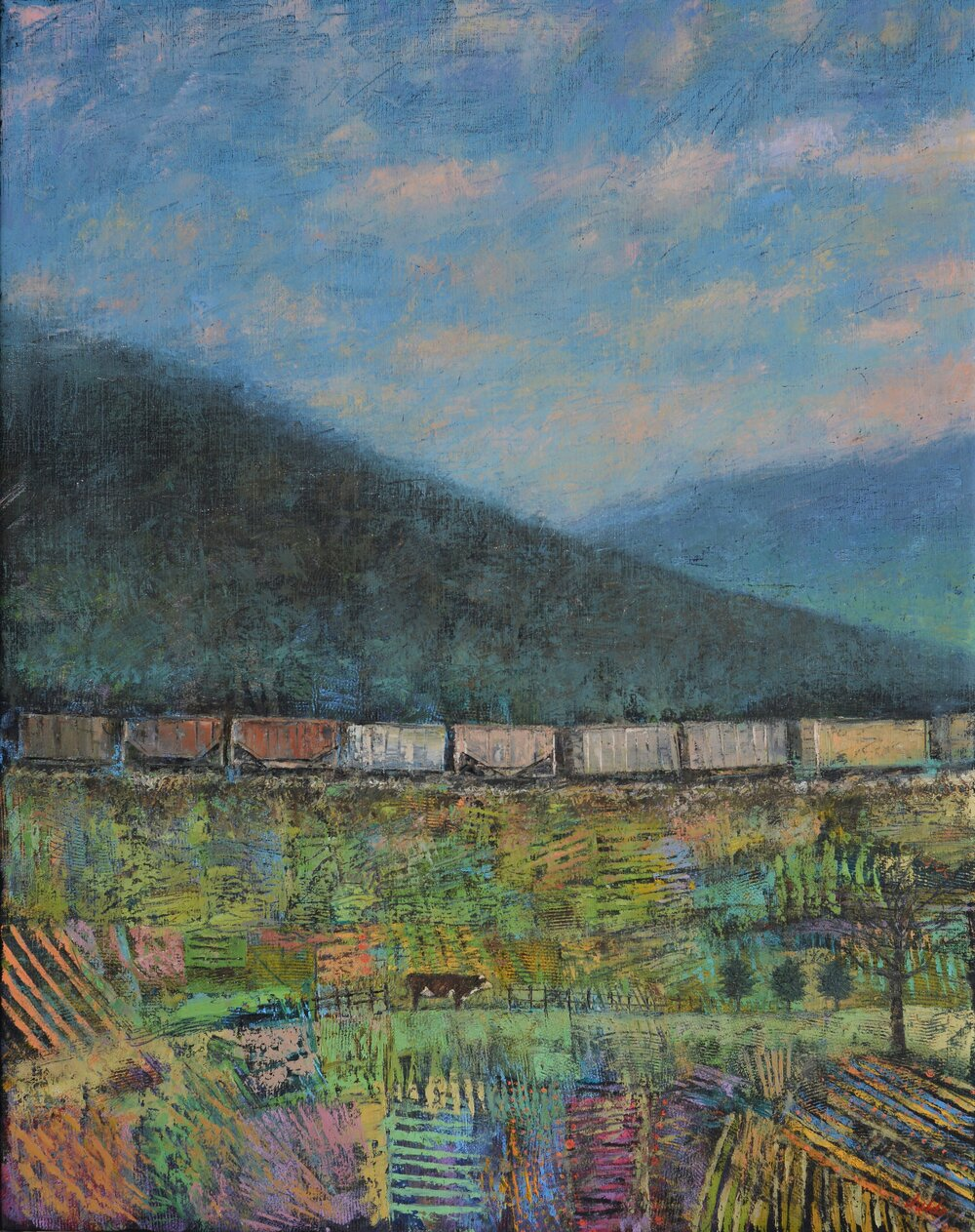 Near Asheville - 38x30