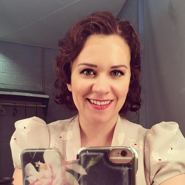 Hermia ready... show2... #puppet... @israelopera #britten #amidsummernightsdream #opera #operasingersofinstagram #mezzo #hermia #telaviv #israel #january #ilovemyjob