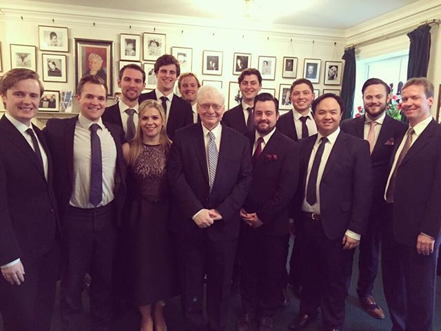 What a lovely concert of male Schubert songs, beautifully curated by Graham Johnson. Great to be a part of it :-) @wigmore_hall @guildhallschool @guildhallvocal (and thanks to @oasisfashion for the dress.) #schubert #lieder #london #mezzo #theboys #singingwithfriends #serenading #oasisfashion