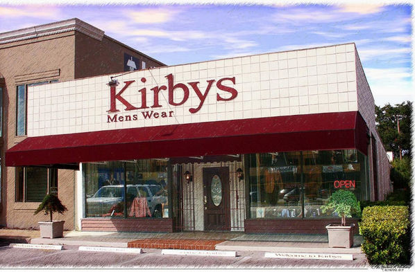 About Kirbys Mens Wear Tampa Location