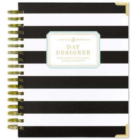 Day Designer - We creatives enjoy keeping notes and planning our days. I have been using this amazing Day Designer for that very reason. You never know when you will need to write down an idea that comes to you or plan a lunch for a potential client. This planner has a lot of space for every day and allows you to also make a to-do list along side of your daily schedule. And it's a hardcover book so it's nice to write in. I can't recommend The Day Designer enough.