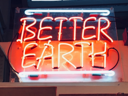- Better Earth, from the North Market, Columbus, Ohio, is now an On-Line store featuring some of the most popular products and gifts sold. Better Earth has been in business for over 27 years, supporting products, local artists, community culture, and appreciation of the earth we live on.