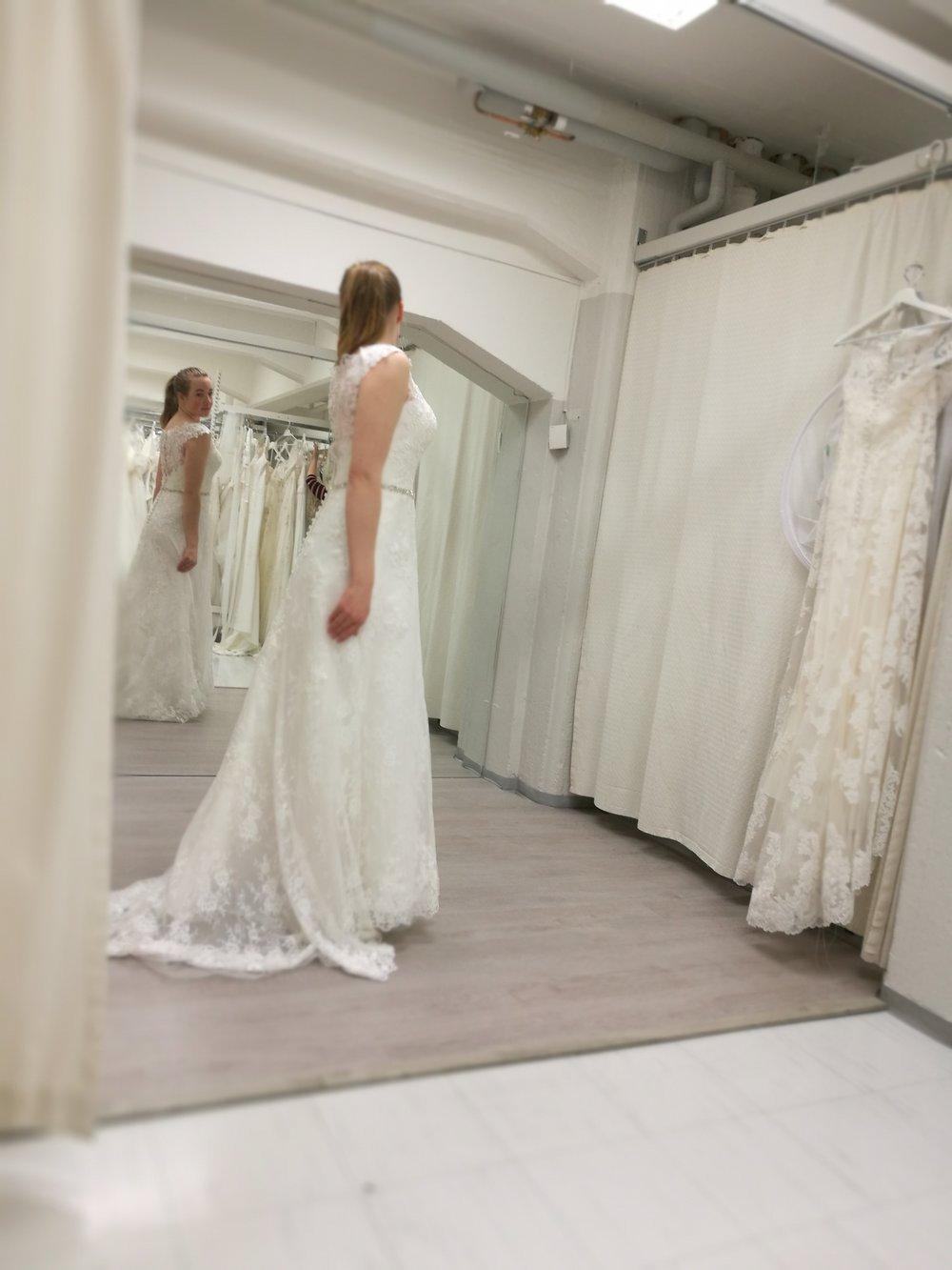 Tammikuu: pukujen testausta Tampereella