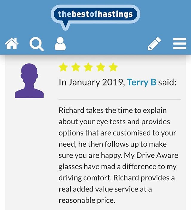 Great new review on @thebestofhastings #hastings #reviews #happycustomer