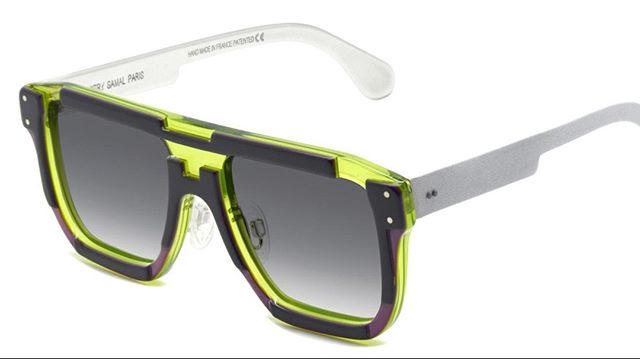 LOUIS Handmade, laser carved acetate frames inspired by urban signage. Ready-fitted solar lenses with 100% UV protection.  Colour:  Neon/deep violet/ black Designer: Dzmitry Samal, Paris www.eyemasters.co.uk  #Specs #Spectacles #Frames #Glasses #Eyeware #Fashion #Instafashion #Hastings #Bexhill #Rye  #Battle #tunbridgewells