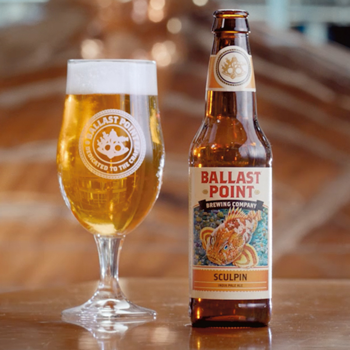 CONSTELLATION AIRS BALLAST POINT SPOTS DURING THE WORLD SERIES AND HITS IT OUT OF THE PARK