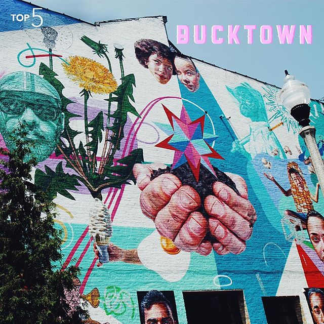 This artistic West Chicago neighborhood may be small, but it makes up for it with the number of amazing murals it boasts. #InternTop5