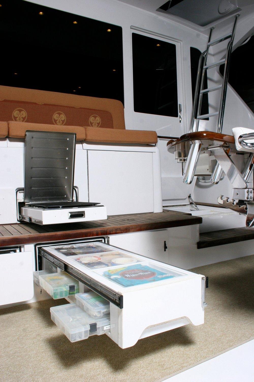 55' Viking custom mezzanine.