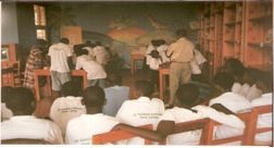 Through OPDE's programs, youth learn math and reading skills as well as vocational skill so they can be economically independent