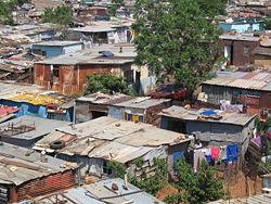 shantytown homes