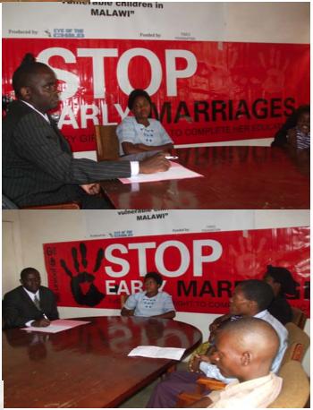 Office Meetings Negotiating End of Marriage