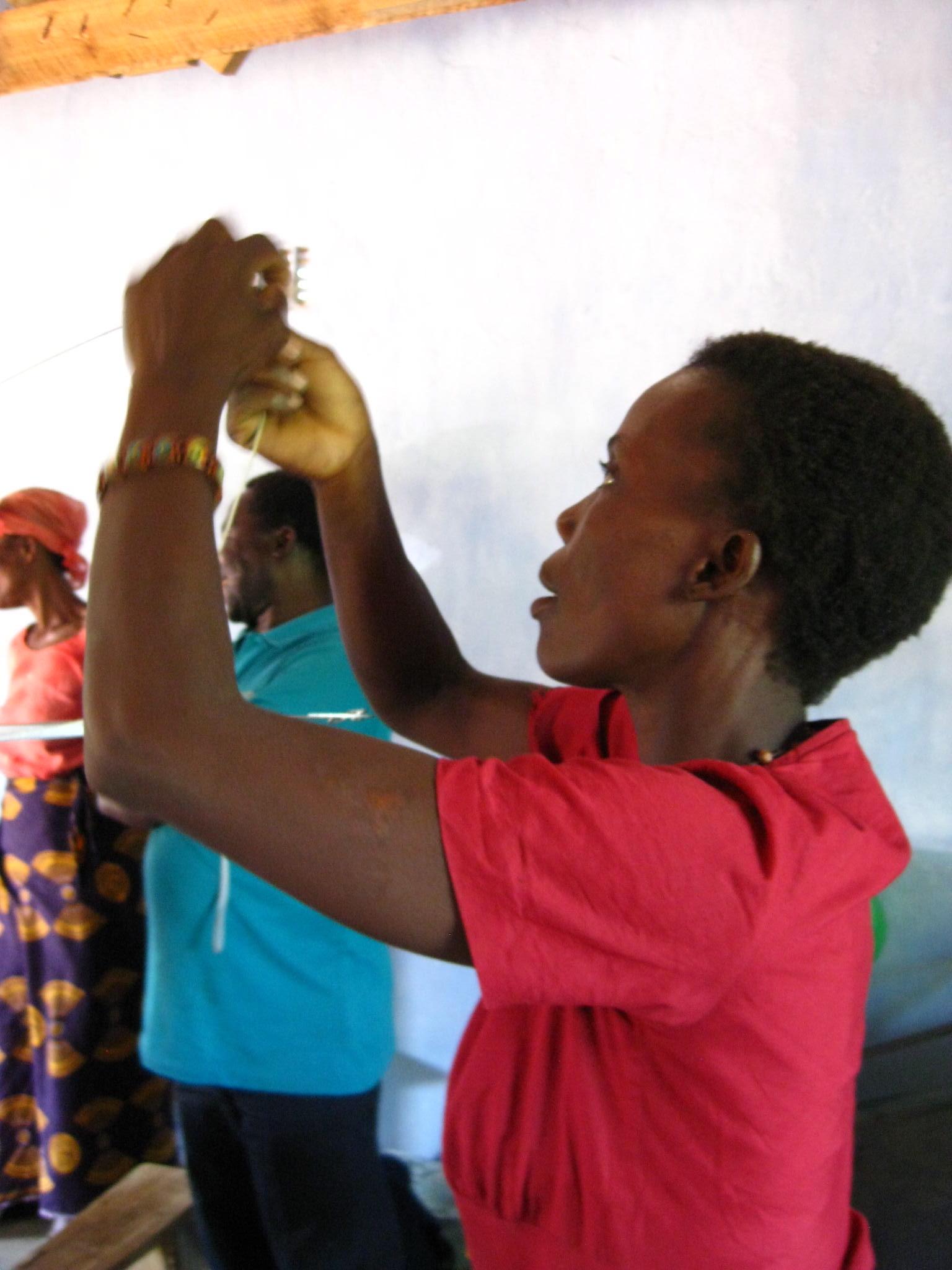 Woman Weaving 2, Feb 2011