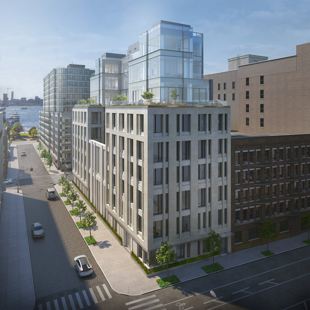 60,000 square feet. just 10 units. - It has been designed to take advantage of the full block layout, abundant exposures, large footprint, and wide cobble-stone street surround.