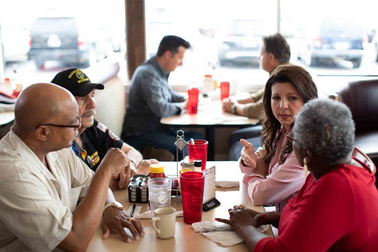 Veterans - Betsy will be a leading voice on behalf of our veterans, active duty service members, and their families.