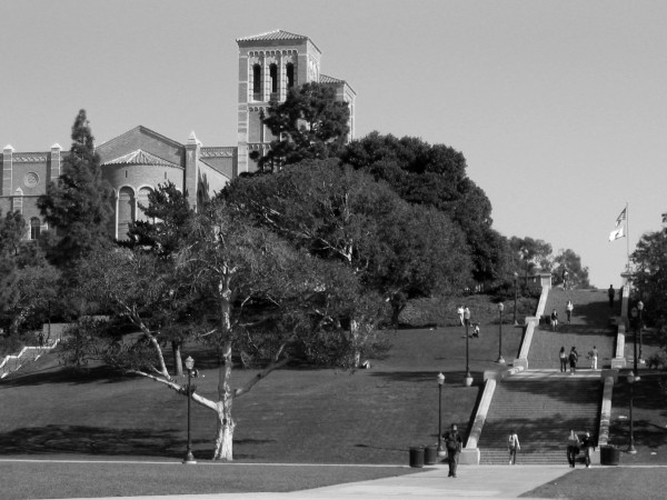 The Janss Steps at UCLA