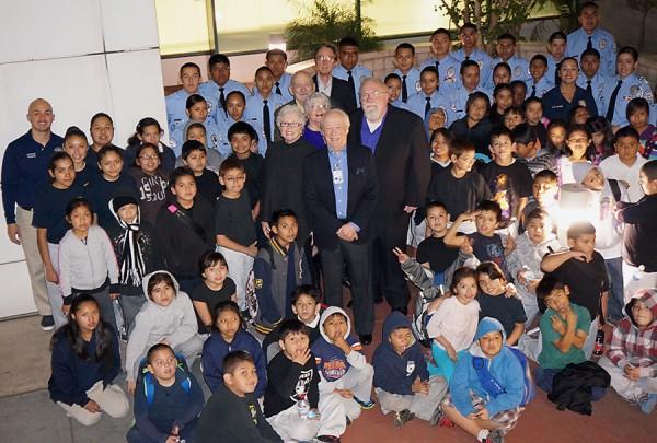 LAPD Newton Division, PAL children, Police Cadets,