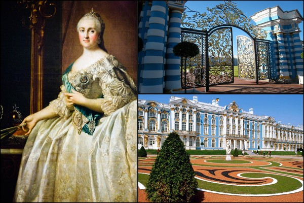 Catherine the Great and her Palace