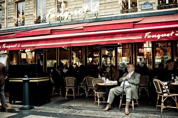 Fouquet's restaurant in Paris France