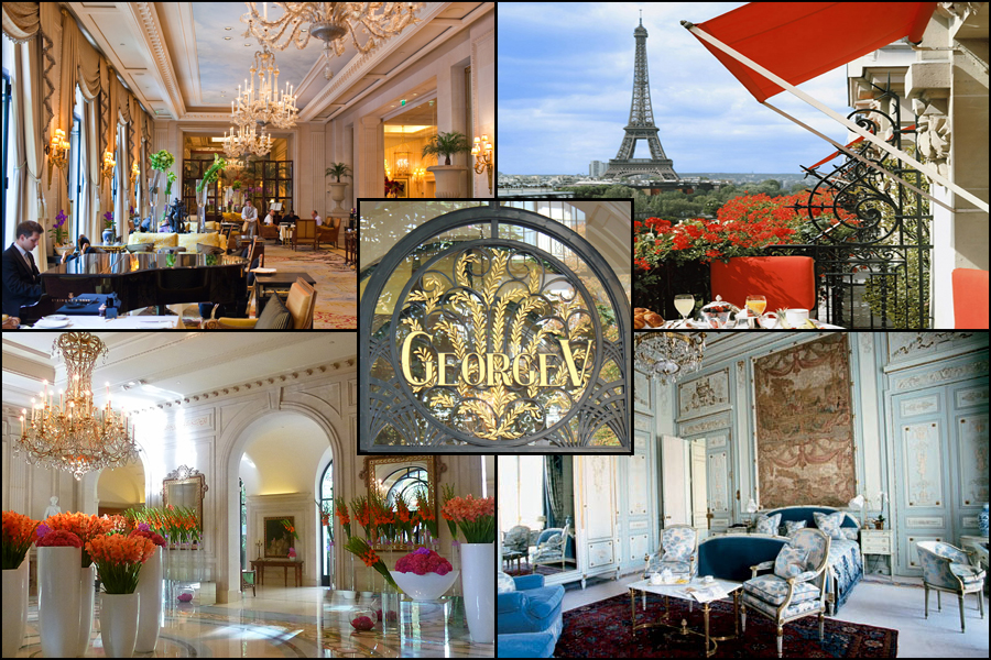 George V Hotel in Paris France