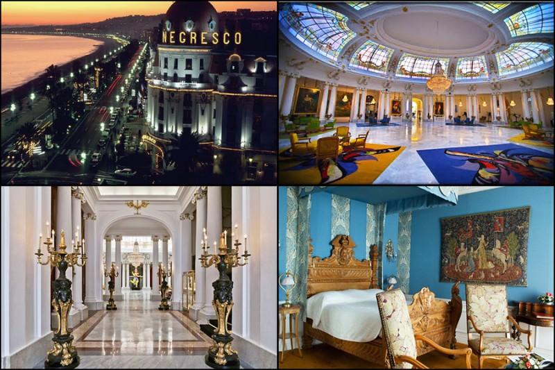 Hotel Negresco, Nice France interiors