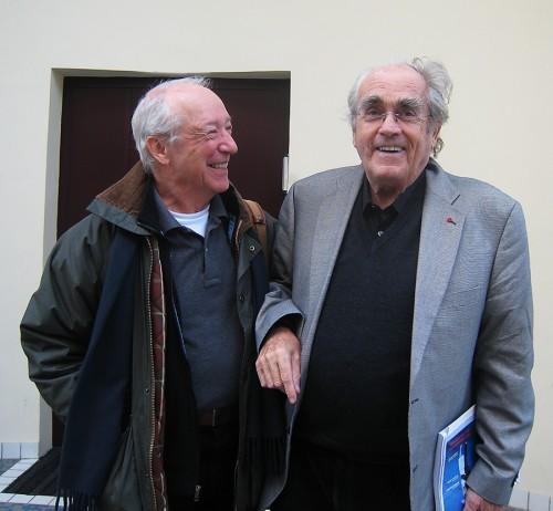Bob Sallin and Michel Legrand