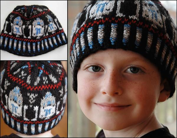 Hand Knit Star Wars Hat