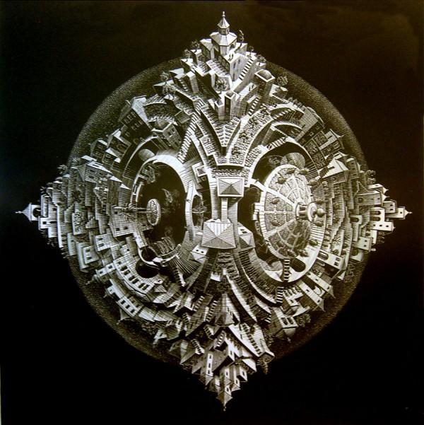 Artwork by M. C. Escher at The Escher Museum in The Hague