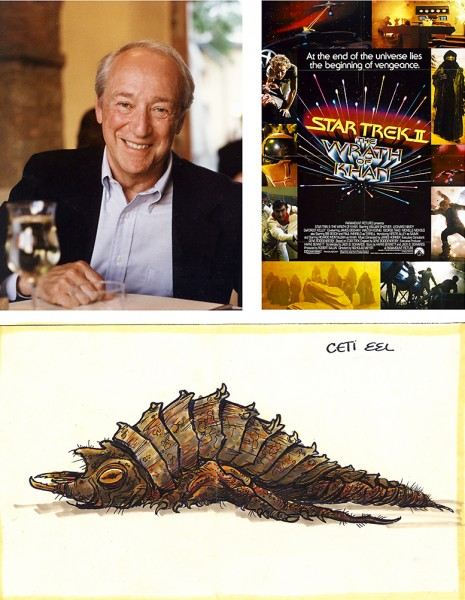 Robert Sallin, Star Trek Ii The Wrath of Khan, and the Ceti eel