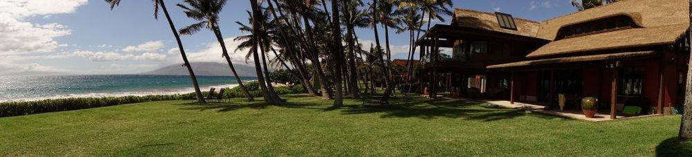 Maui house on the beach