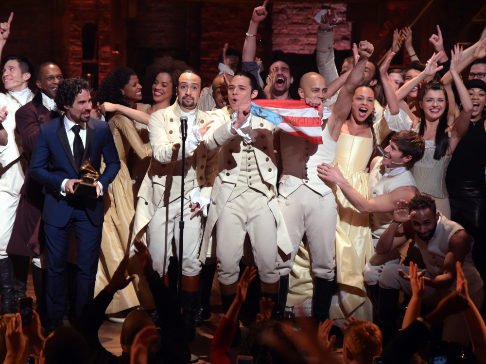 Cast of Hamilton