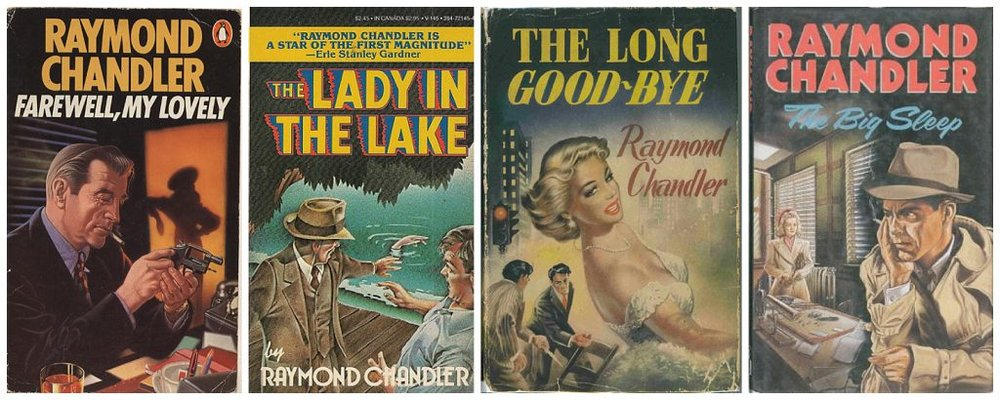 Four Raymond Chandler novels