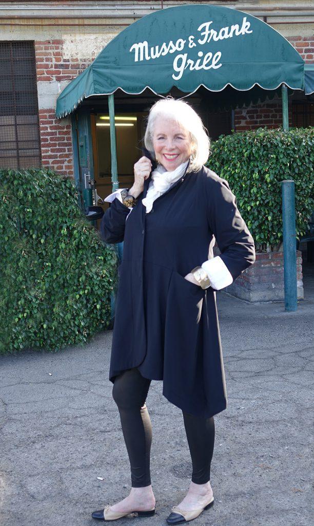 Sandra Sallin at Musso & Franks
