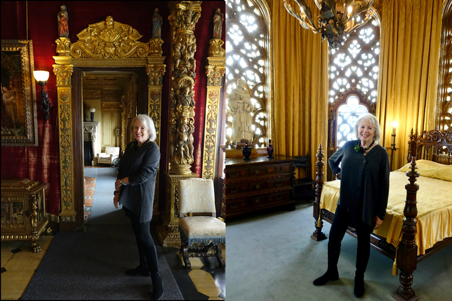 Bedrooms at Hearst Castle