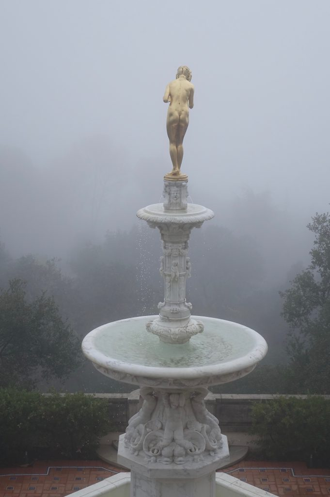 Statue at Hearst Castle