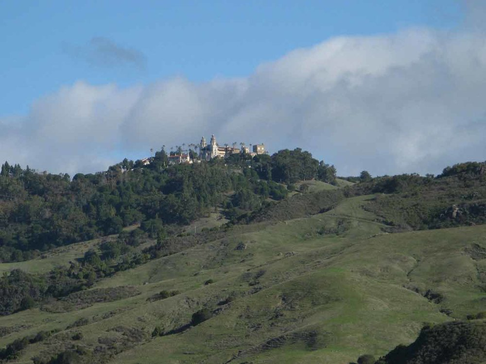 Hills surrounding Hearst Castle
