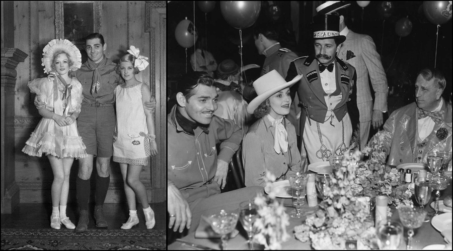 Marion Davies, Clark Gable and Betty Grable, Clark Gable, Carole Lombard and WR Hearst