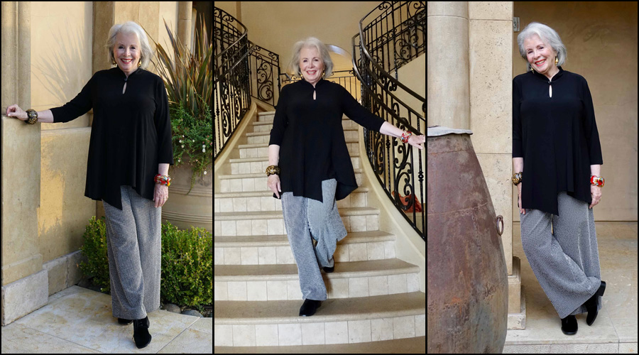 Sandra triptych at Allegretto Hotel in Paso Robles