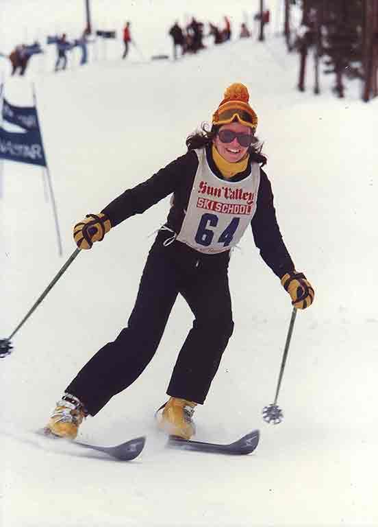 Second week in ski school class race.0
